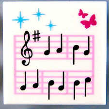 LEGO SHEET MUSIC TILE ~ Minifigure Minifig Note Musical Instrument Band  * NEW *