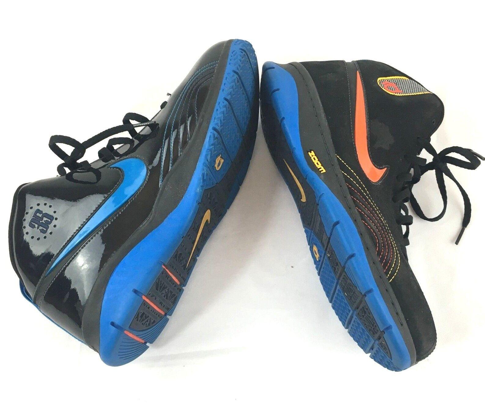 Nike zoom kevin durant okc okc okc ab 35 herren - sportschuhe sz 10 schwarze wildleder - patent e86802