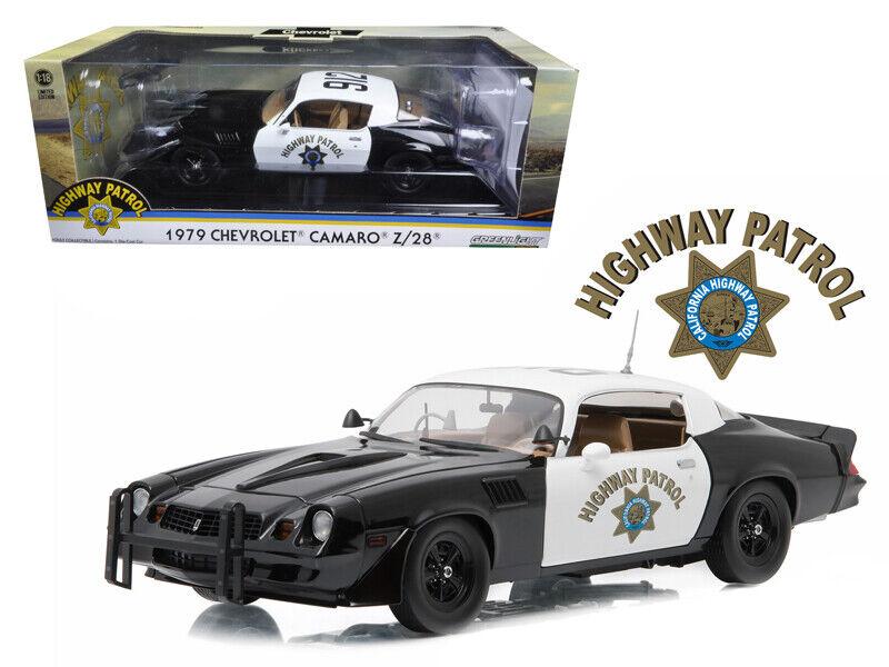 vertlumière  1 18 1979 Chevrolet Camaro Z28 California Highway Patrol CHP 12964  rentable