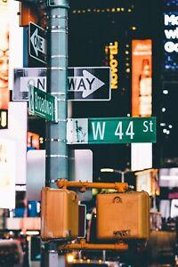 Poster Of New-York Lamp
