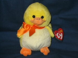 f322a8d1839 RARE TY EXCLUSIVE PUDDLES the DUCK BEANIE BABY - MINT with MINT TAG ...