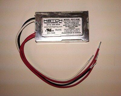Hatch RS12-80-30 80W Electronic Transformer 230V INP /> 12V OUT RS12-80-230V