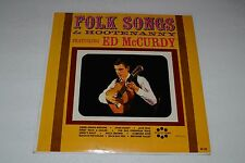 Ed McCurdy~Folk Songs & Hootenanny~Spin-O-Rama M-122~1963 Folk~FAST SHIPPING!