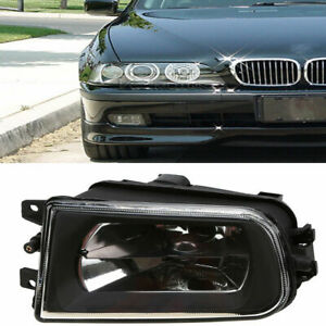 Direct Fog Light Lamp For BMW E39 5 Serie Clear Glass Lens 528i 540i Z3 Perfect
