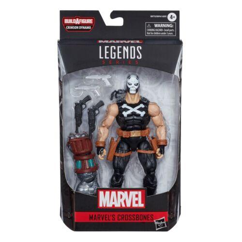 "Marvel Legends 6/"" Black Widow WAVE 1-OSSA INCROCIATE DINAMO Cremisi BAF"