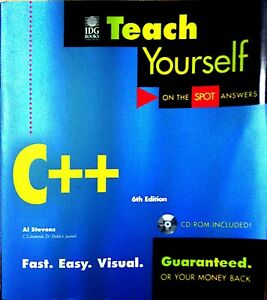 Teach-Yourself-C-6th-Edition-Print-2000-with-CD-Roms-On-The-Spot-Answers