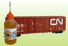 BEST Synthetic Oil For N-Scale Minitrix Trains READ! Slick Liquid Lube Bearings