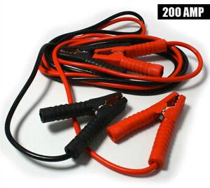Cavi-Avviamento-Collegamento-Batteria-Auto-200-AMP-3-Metri-Jumper-Lifetime-Cars