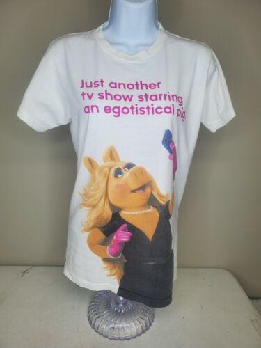 Miss Piggy Vintage Promo Muppets T Shirt TV Show A