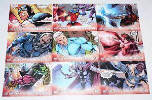 Avengers-Kree-Skrull-War-Character-cards-9-card-set-by-Upper-Deck-2011