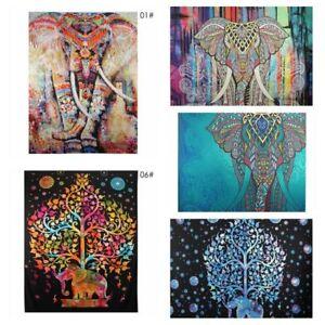 Image Is Loading Elephant Wall Hanging Tapestry Bedspread Hippie Mandala Boho