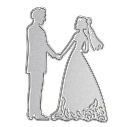 Wedding Lover Bride /& Groom Cutting Dies Stencil Mold Scrapbook Album Embossing