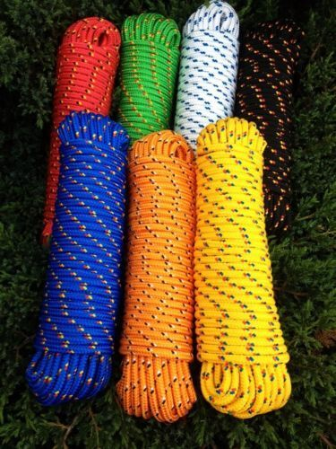 Multipurpose Rope 4-16 mm,30m,Rope,Canvas,Accessory cord,Rope,Line,Tape,