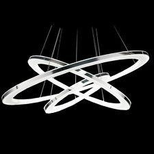 Meilleur Plafonnier moderne LED Design Spirale Lustre Lampe à suspension Métal@