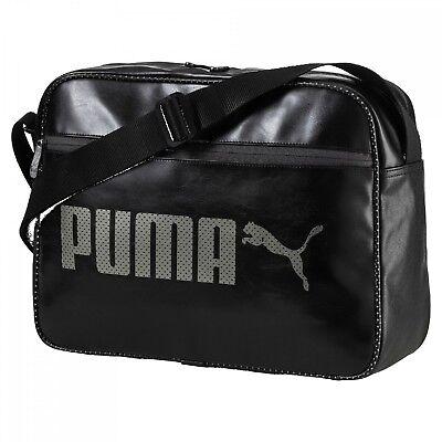 PUMA Sac À Bandoulière Croix Campus Reporter Puma Black