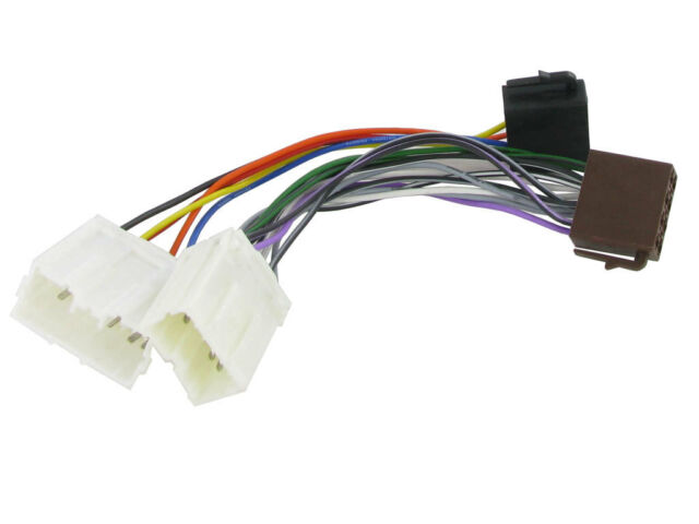 Volvo S40 Iso Stereo Head Unit Harness Adaptor Wiring Lead