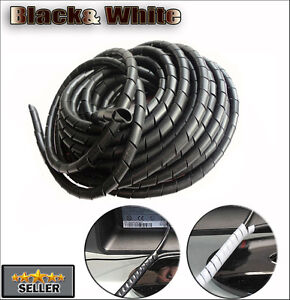 Cable-Wire-Tidy-Wrap-PC-Home-Cinema-TV-Management-Organising-Kit-Extra-Large