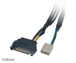 Akasa-AK-CBFA-06-30-Flexa-fp3s-3-way-PWM-Ventilator-Splitter-Kabel