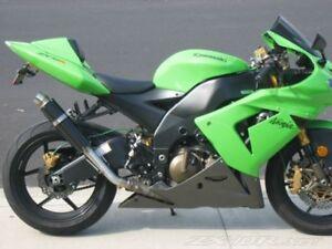 KAWASAKI ZX-10R 2004-2005 SLASH CUT RACE TRIM GP EXHAUST CAN GP-S1