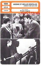 Dark Comedy Arsenic And Old Lace Frank Capra Cary Grant French Trade Card