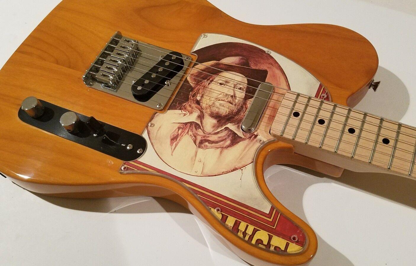 Album Cover Art Pickguard for Fender Telecaster Tele Willie Nelson Squier