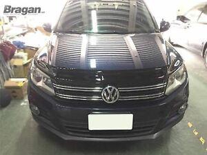 Para-adaptarse-a-2007-2012-Volkswagen-Tiguan-Protector-De-Escudo-Protector-Sombrero-Acrilico-ahumado