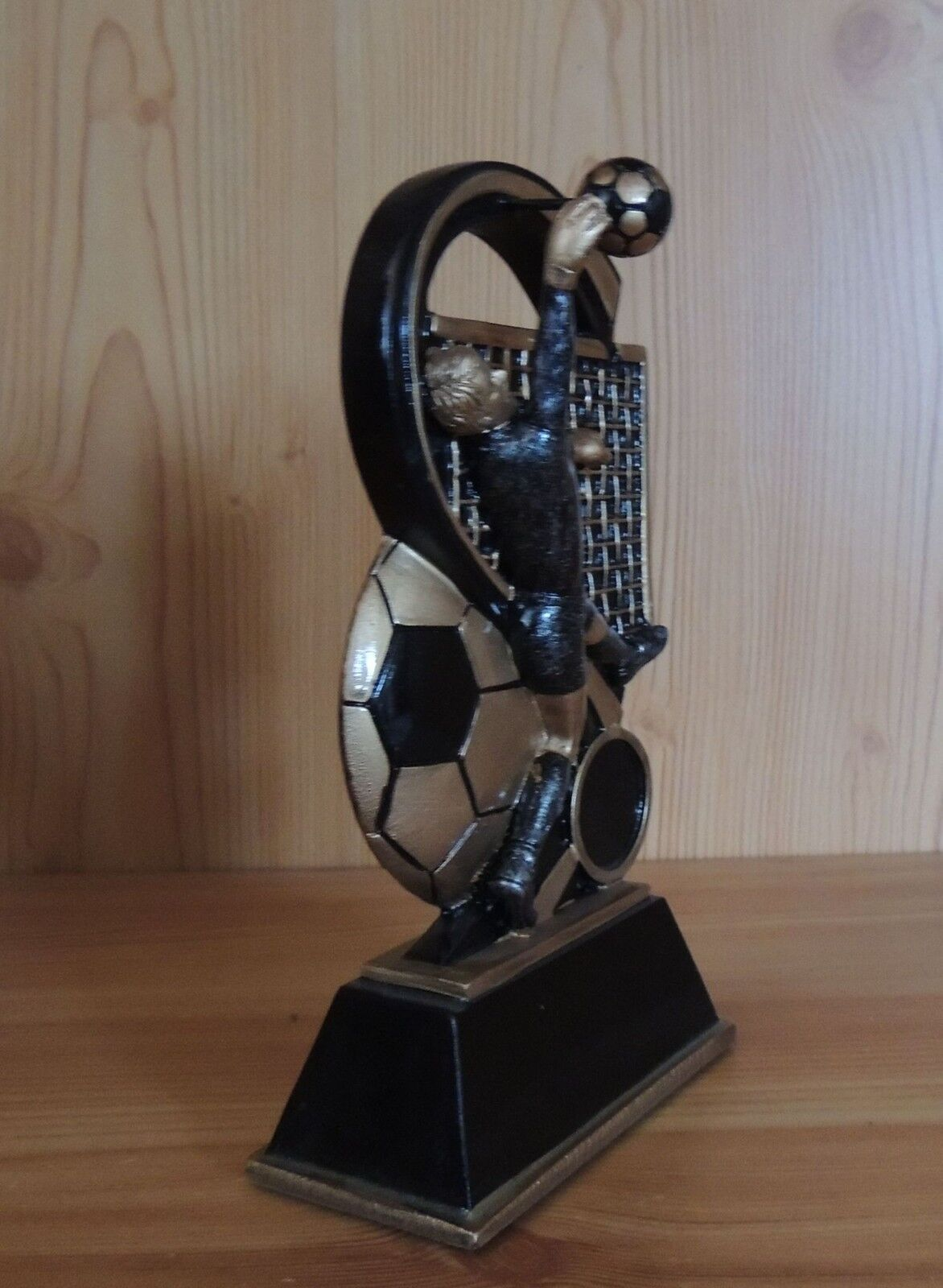 1 1 1 figurine football gardien de but 14 cm relief #1 (Coupe trophées Resin hussy anniversaire) 8a6ae5