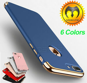 For iPhone 6 6S 7 / Plus Mosafe® Luxury Ultra Thin Hybrid Slim Hard Case Cover