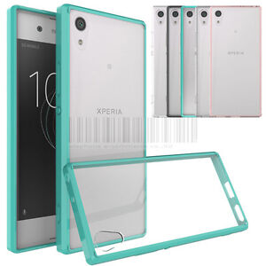 reputable site 7f1ea 66f02 Slim Hybrid Clear TPU Case Shockproof Bumper Cover For Sony Xperia ...