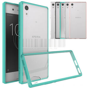 reputable site 2a590 1adc3 Slim Hybrid Clear TPU Case Shockproof Bumper Cover For Sony Xperia ...