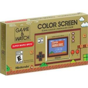 Nintendo Game And Watch Super Mario Bros. - Game And Watch Style Handheld System