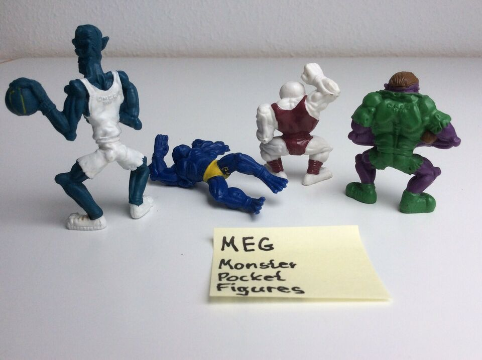 Figurer, MEG Monsters in my Pocket Figures, MEG