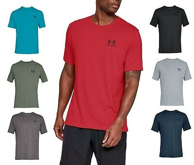 Mens Under Armour Sportstyle Striped Fitted Tee New