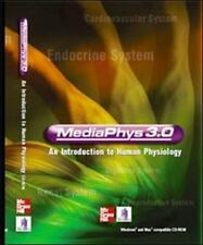 MediaPhys 3.0 : An Introduction to Human Physiology by Tom Stavraky (2005, CD, R