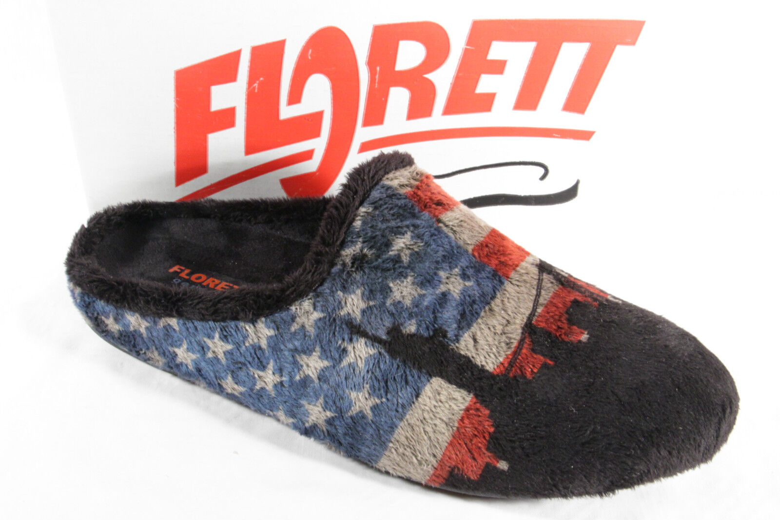 Pantofole da uomo Florett Uomo Pantofola Pantofole PANTOFOLE CIABATTE PANTOFOLE NUOVO