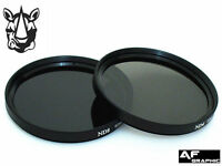 F268u ND4 ND8 Filter Lens 58mm for Canon EOS 100D 300D 350D 400D 450D 18-55mm