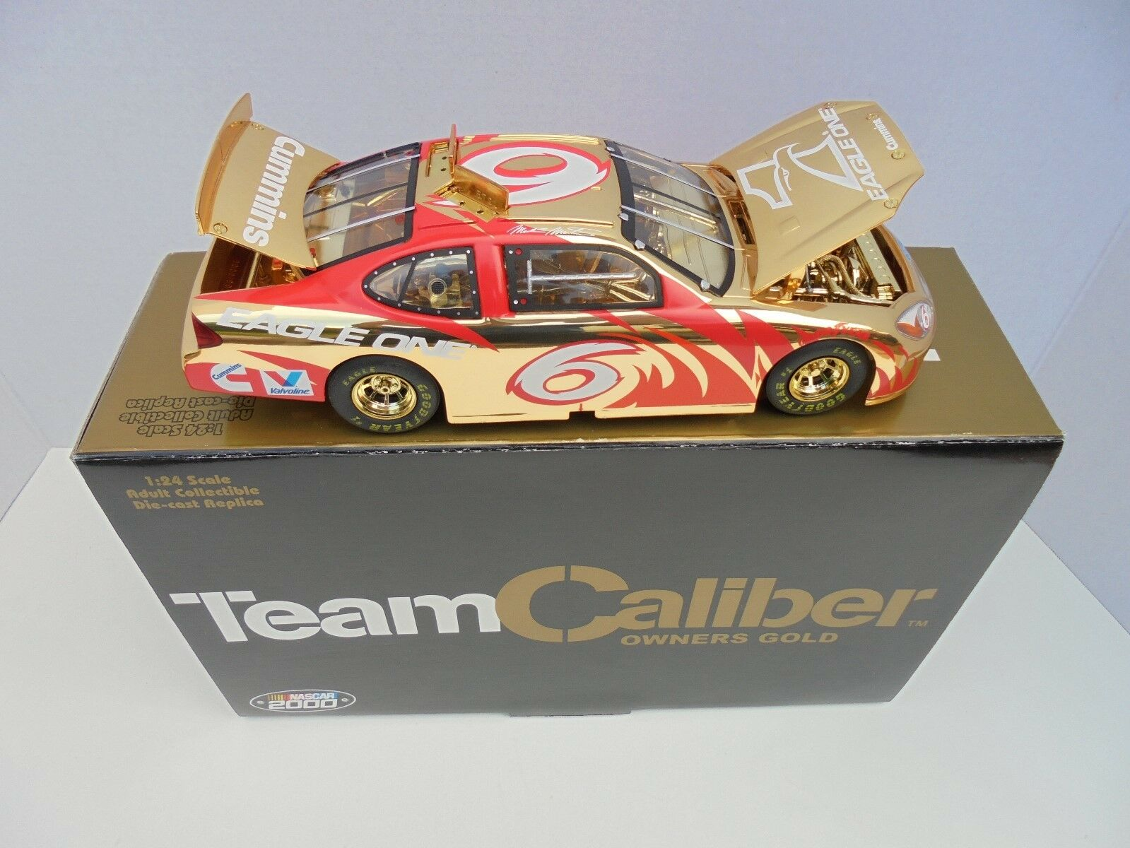 Mark Martin  6 EAGLE ONE 2000 FORD TAURUS NASCAR Diecast Terminaison Or de collection M