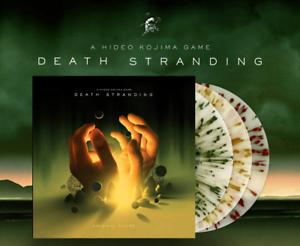 Death Stranding Original Video Game Score Exclusive Red Blue Yellow Vinyl 3x LP