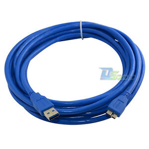 16Ft-5M-USB-3-0-A-Male-To-Micro-B-Male-Plug-Extension-5Gbps-Premium-Cable