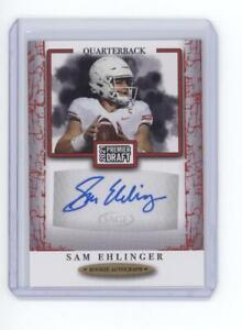 2021 Sage Premier Draft Football - Autograph - Sam Ehlinger (Texas)