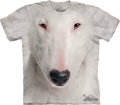 NEW ENGLISH BULL TERRIER FACE Dog The Mountain T Shirt Adult Sizes