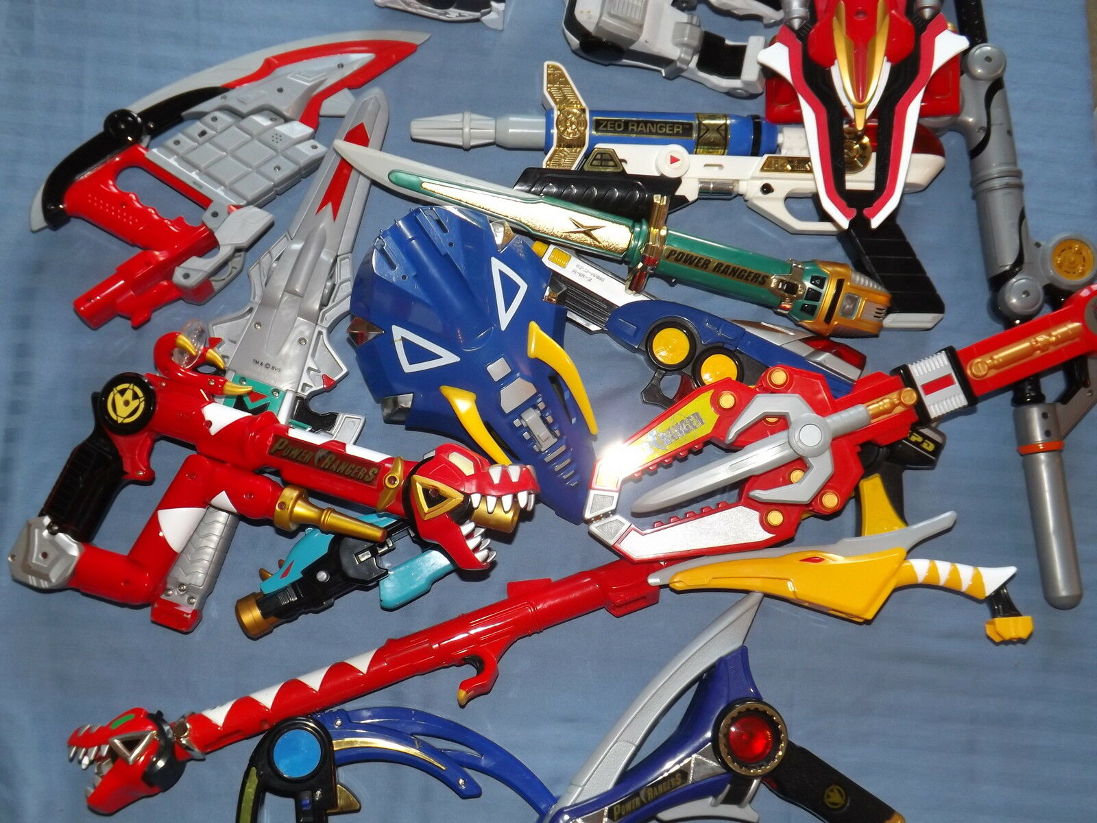POWER RANGERS PLAY TOY WEAPONS RANGER LOTS TO CHOOSE FREE UK POSTAGE
