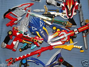 POWER-RANGERS-PLAY-TOY-WEAPONS-RANGER-LOTS-TO-CHOOSE-FREE-UK-POSTAGE