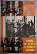 Soggettone SCENE DI CACCIA IN BASSA BAVIERA 1970 RARA!! HANNA SCHYGULLA