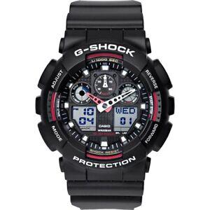 Casio-G-Shock-Watch-Uhr-GA-100-1A4ER-Armbanduhr-fuer-Herren-Neu-New-Original