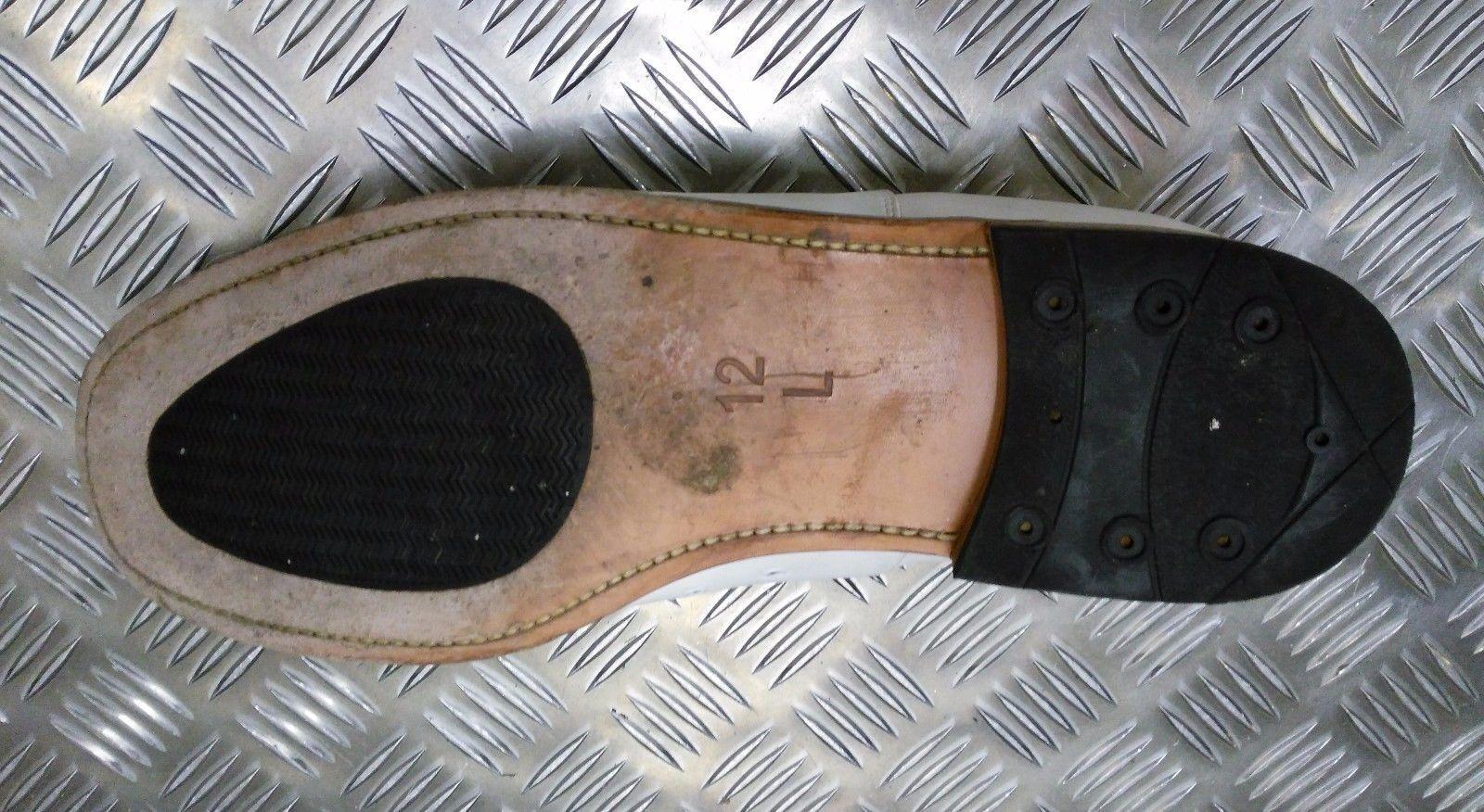 Echt British Navy Weißes Leder Parade/Formelle Schuhe Herren / / / Frau - Alle ff13a1