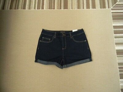 Justice Bermuda Denim Shorts Double Roll Cuff Denim