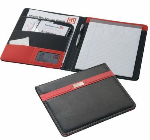 1 Visitenkartenetui Büro Schule stf210 Schreibmappe DIN A4 Businessmappe inkl