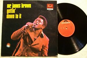 33 tours – Mr. James Brown – Gettin' down to it