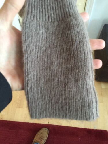 femme pour en brun côtelés Pull Petits tricot rond Free boutons Col S People Taille PfpvnI